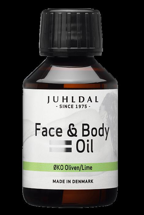 Face & Body Oil - ØKO Oliven/Lime