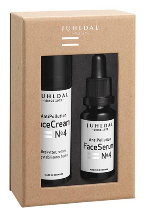 Gaveæske FaceCream & FaceSerum No 4 AntiPollution